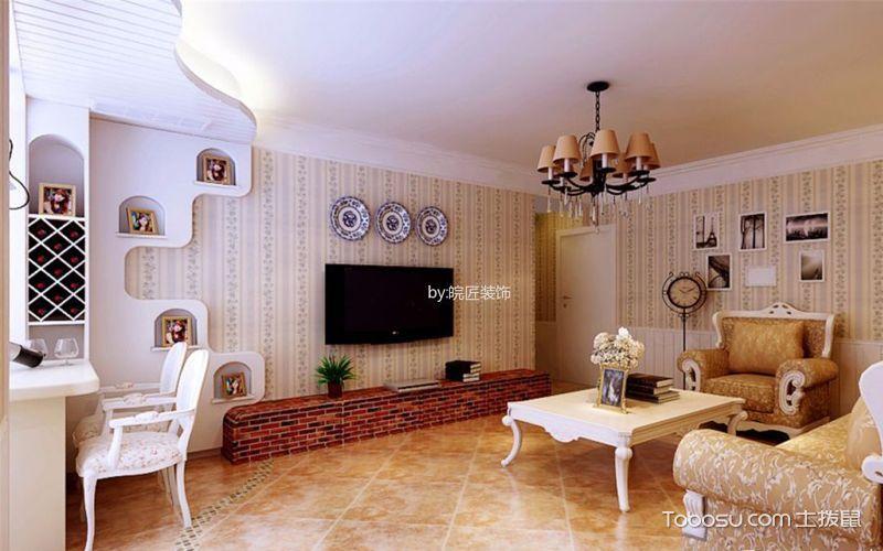 客厅背景墙装饰,如此明朗一触即爱