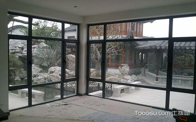 铝合金门窗制作方法