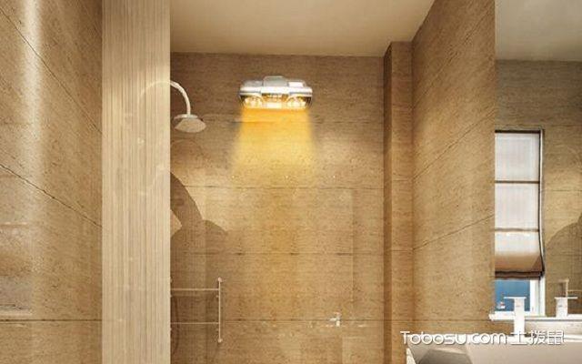 室内照明种类之浴霸灯