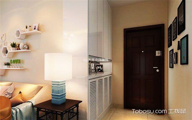 88平米三室两厅装修