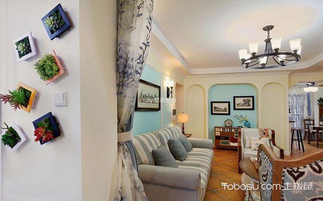 120平三室两厅装修图