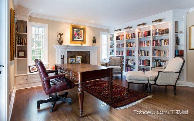 书房空间巧利用合理摆放