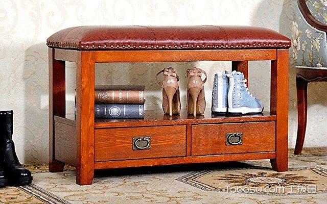 美式进门鞋柜