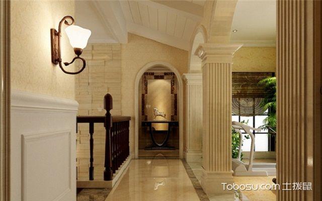 走廊过道照明设计壁灯效果图