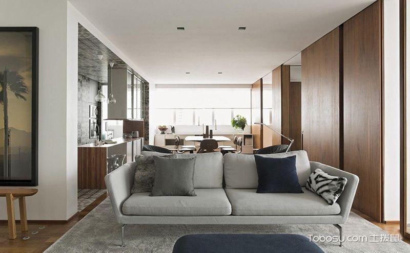 室内简约风格装修设计,原木打造时尚范住宅