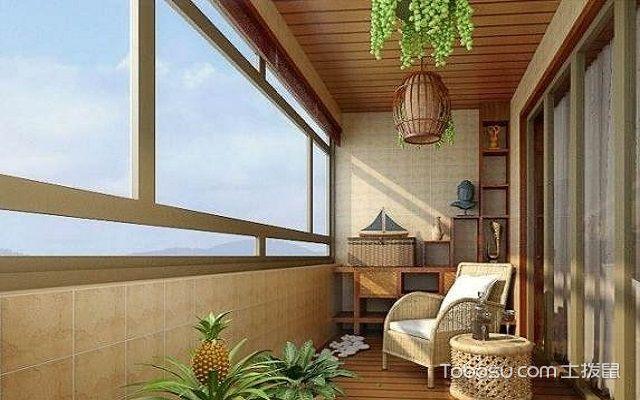 阳台配饰设计效果图
