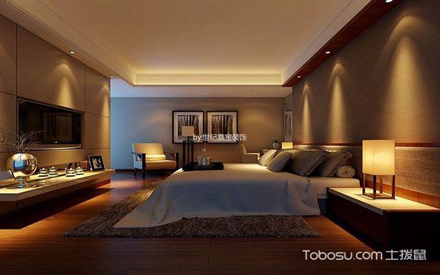 130平米三室两厅装修效果图