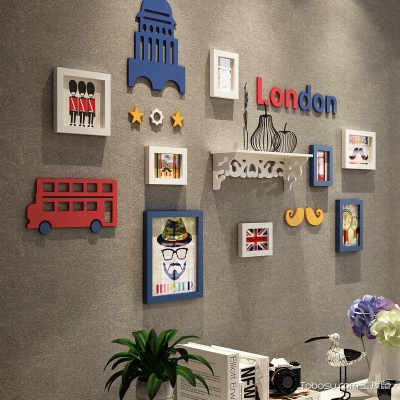 创意墙上装饰品图片