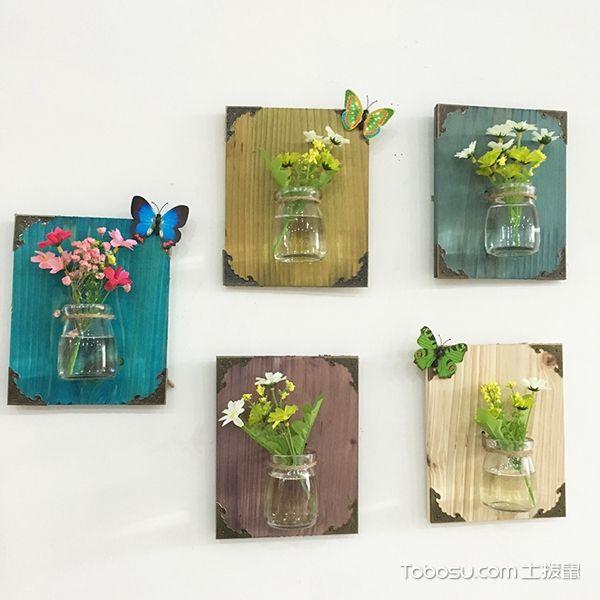 简单墙上装饰品图片