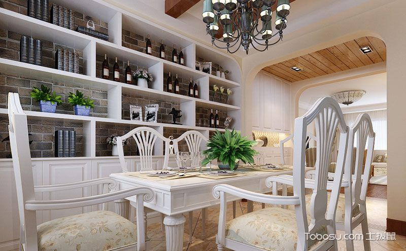 家居酒柜装修效果图,潇洒品尽世间百味
