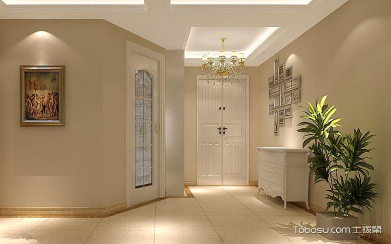 白色木门装修效果图,典雅洁净亦不失端庄