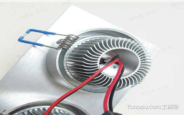 筒灯安装怎么接线