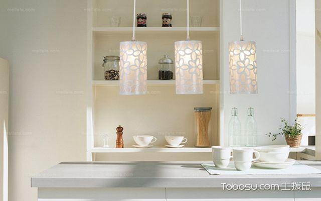 餐桌吊灯安装高度之亮色系