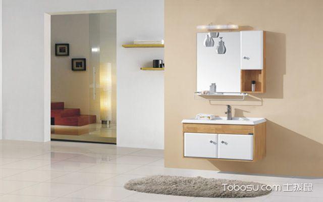 浴室柜安装注意事项之暖色系