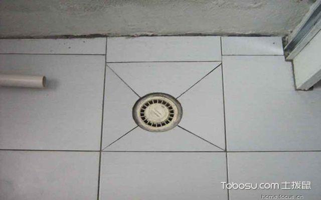 卫生间地漏尺寸之圆形地漏