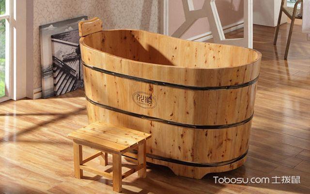 浴缸什么材质的好之木质浴缸