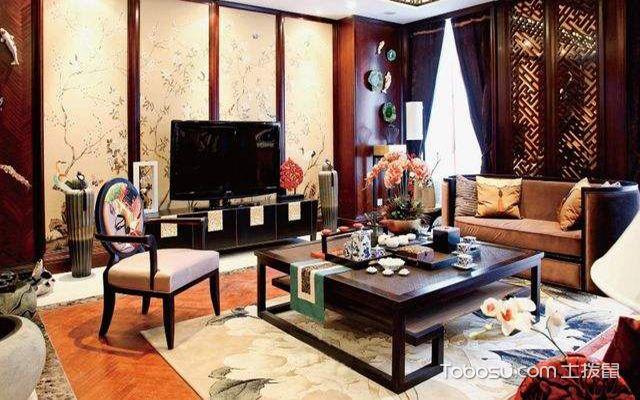 中式客厅茶几