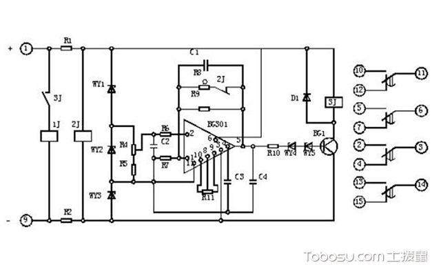 中间继电器原理图