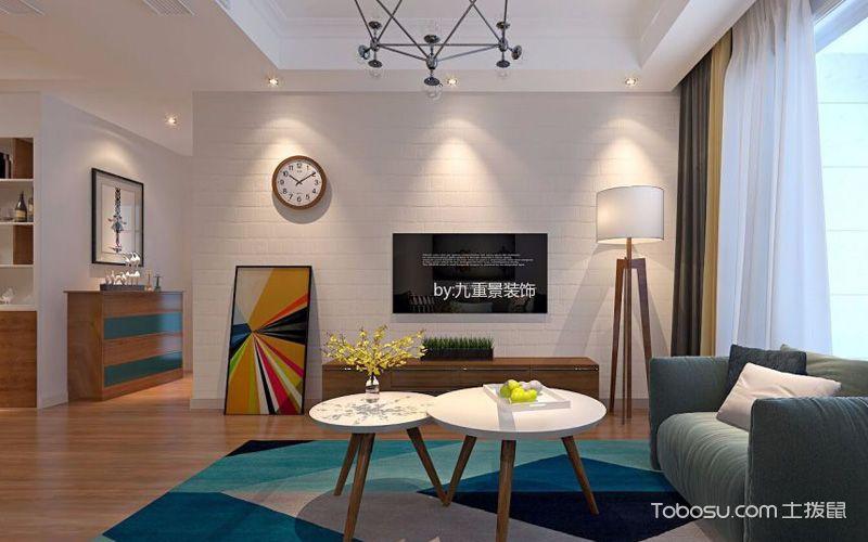 电视背景墙装饰,客厅中靓丽的风景线
