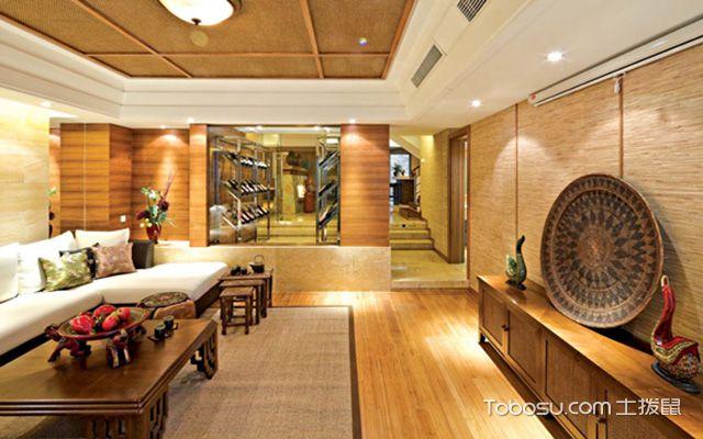 后现代风格软装之客厅