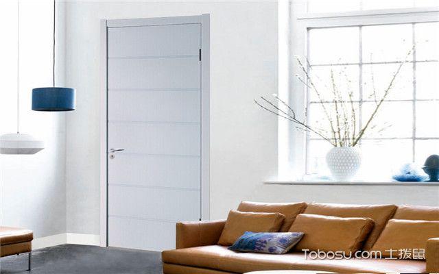 白色免漆门