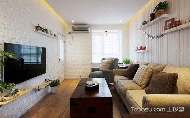 小户型混搭风格装修之客厅