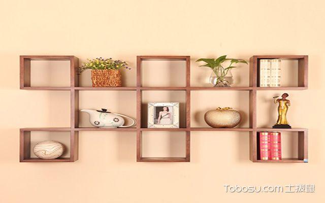 墙上创意书架