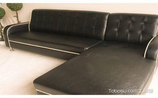 真皮沙发的材质种类之压纹皮
