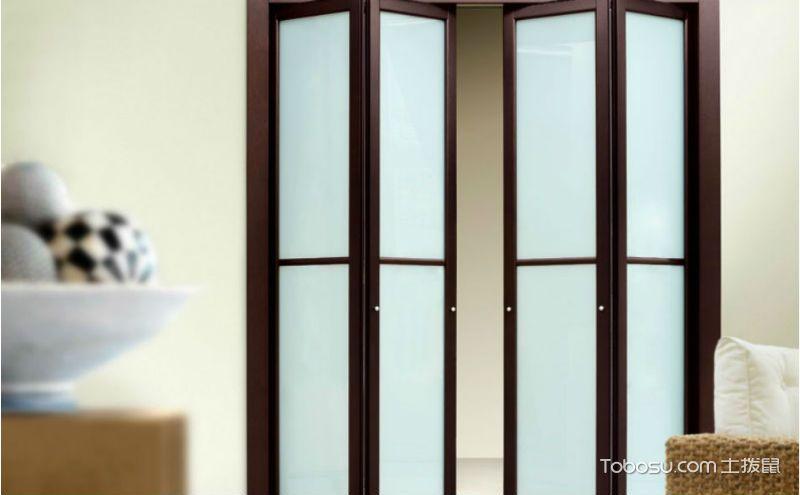 卫生间折叠门效果图,防水防潮又新颖