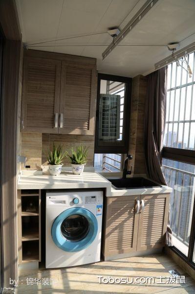 现代美式阳台柜子