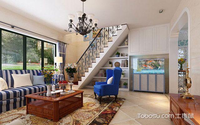 美式混搭风格装修之客厅