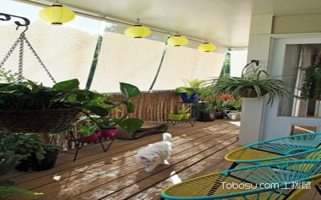 卧室阳台空间巧妙利用之植物