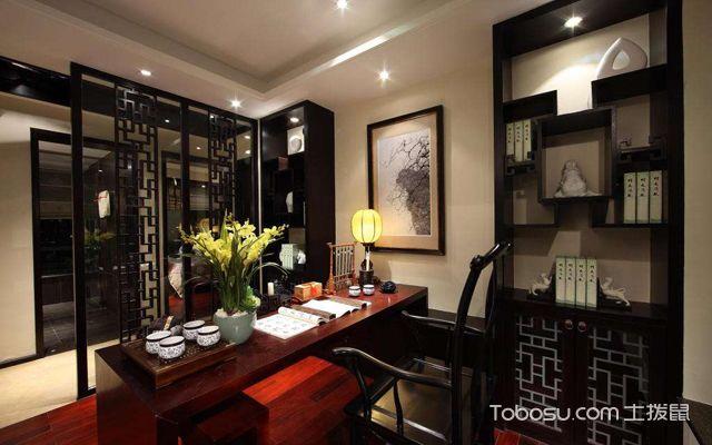 中式家居植物布置