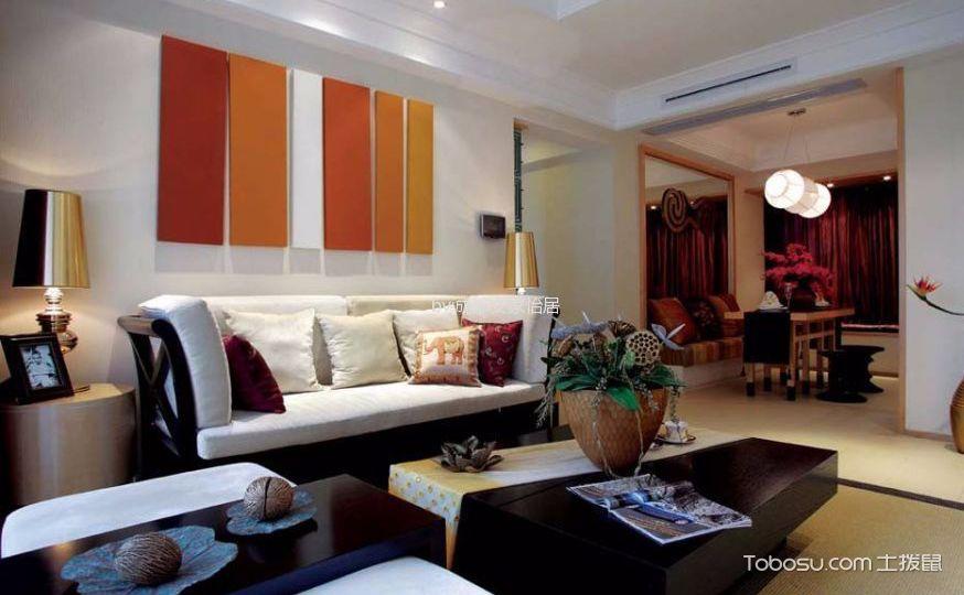 三室两厅室内设计图,体验东南亚的异国风情