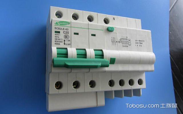 漏电�y��:(�y�k�c���!�f_单相漏电开关的选择与安装,用电安全自己负责