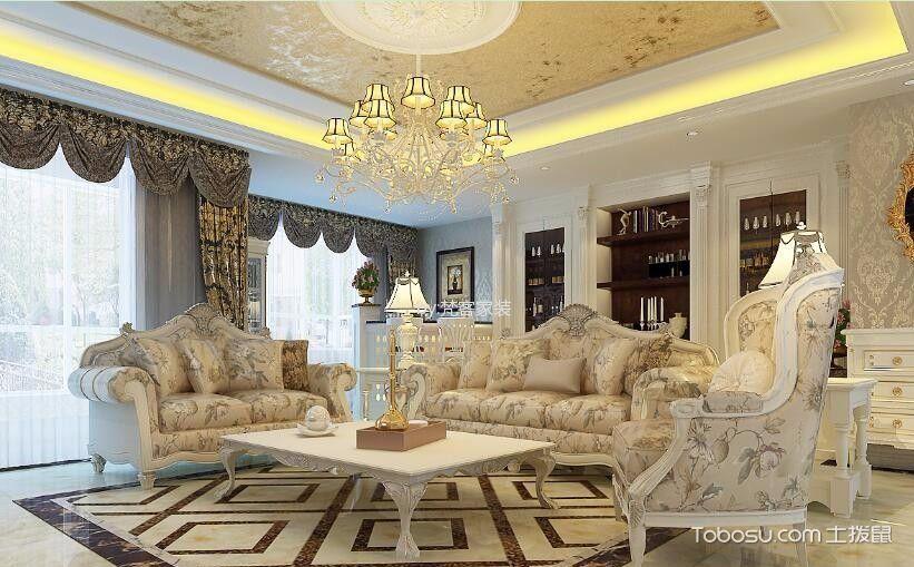 欧式客厅家具图片,经典款式永流传