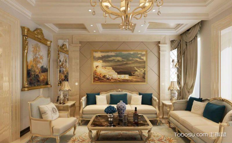欧式客厅装饰画怎么选?让你怦然心动才算好