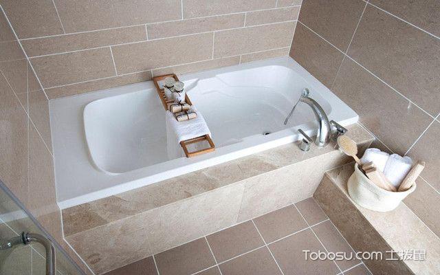 浴缸安装之注意事项