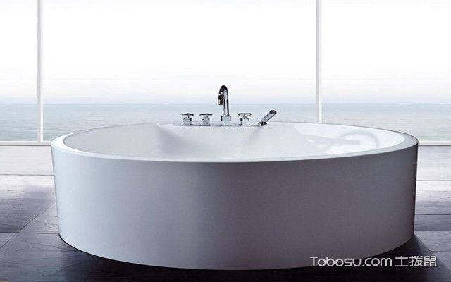 浴缸材质之亚克力浴缸