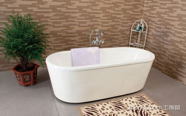浴缸材质之钢板浴缸