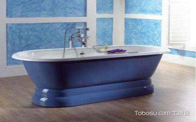 浴缸材质之铸铁浴缸