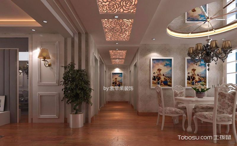 餐厅走廊吊顶装修效果图,八种风格任你挑