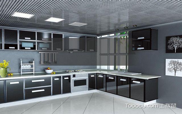 厨房集成吊顶选择什么颜色好之冷色系