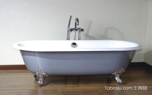 铸铁浴缸如何安装之检修口