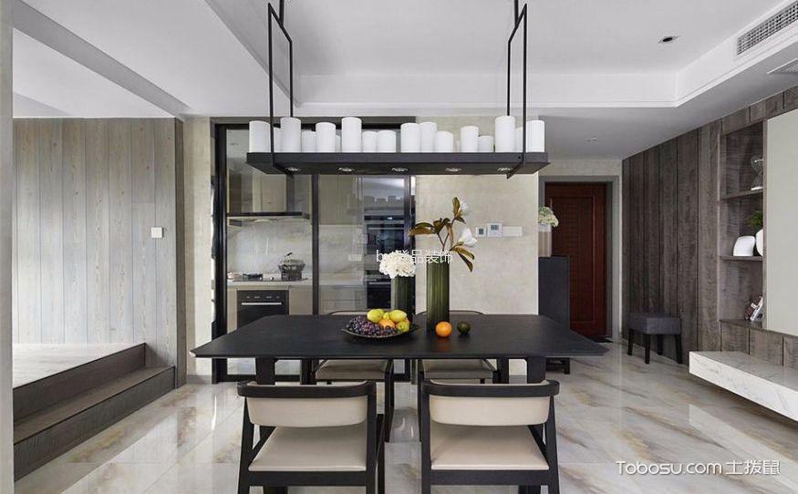 现代家装餐厅效果图,舒适实用才是王道