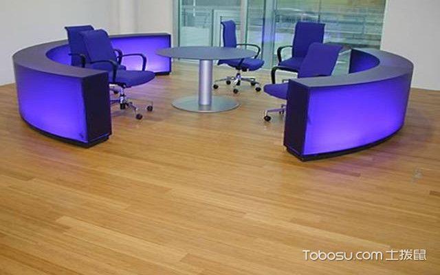竹地板安装流程之打孔
