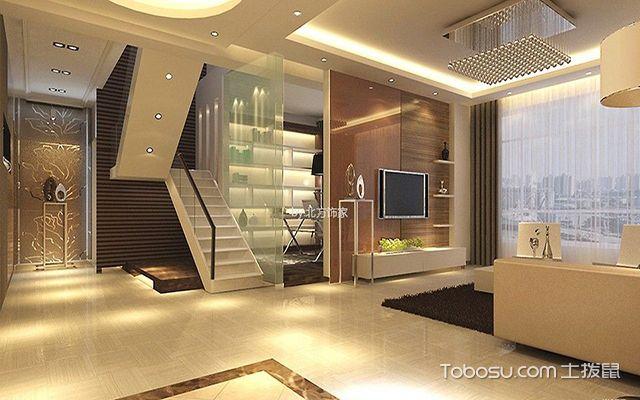 韩式客厅墙壁瓷砖效果图