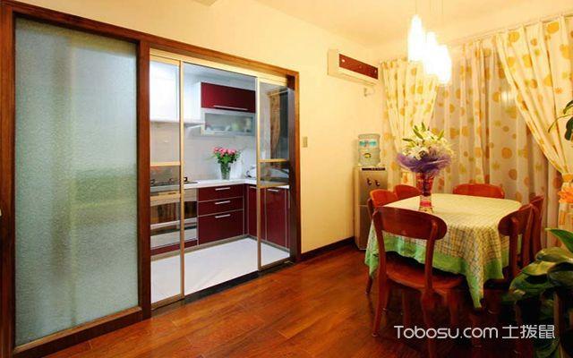 厨房推拉门尺寸