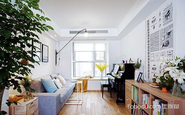 105平米三室两厅装修样板间