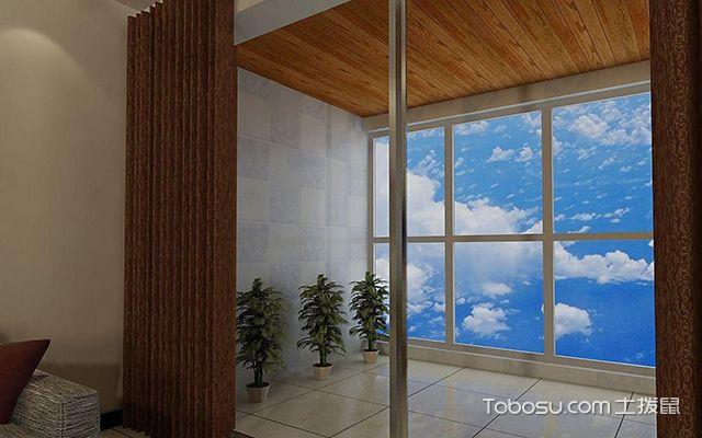 阳台生态木吊顶